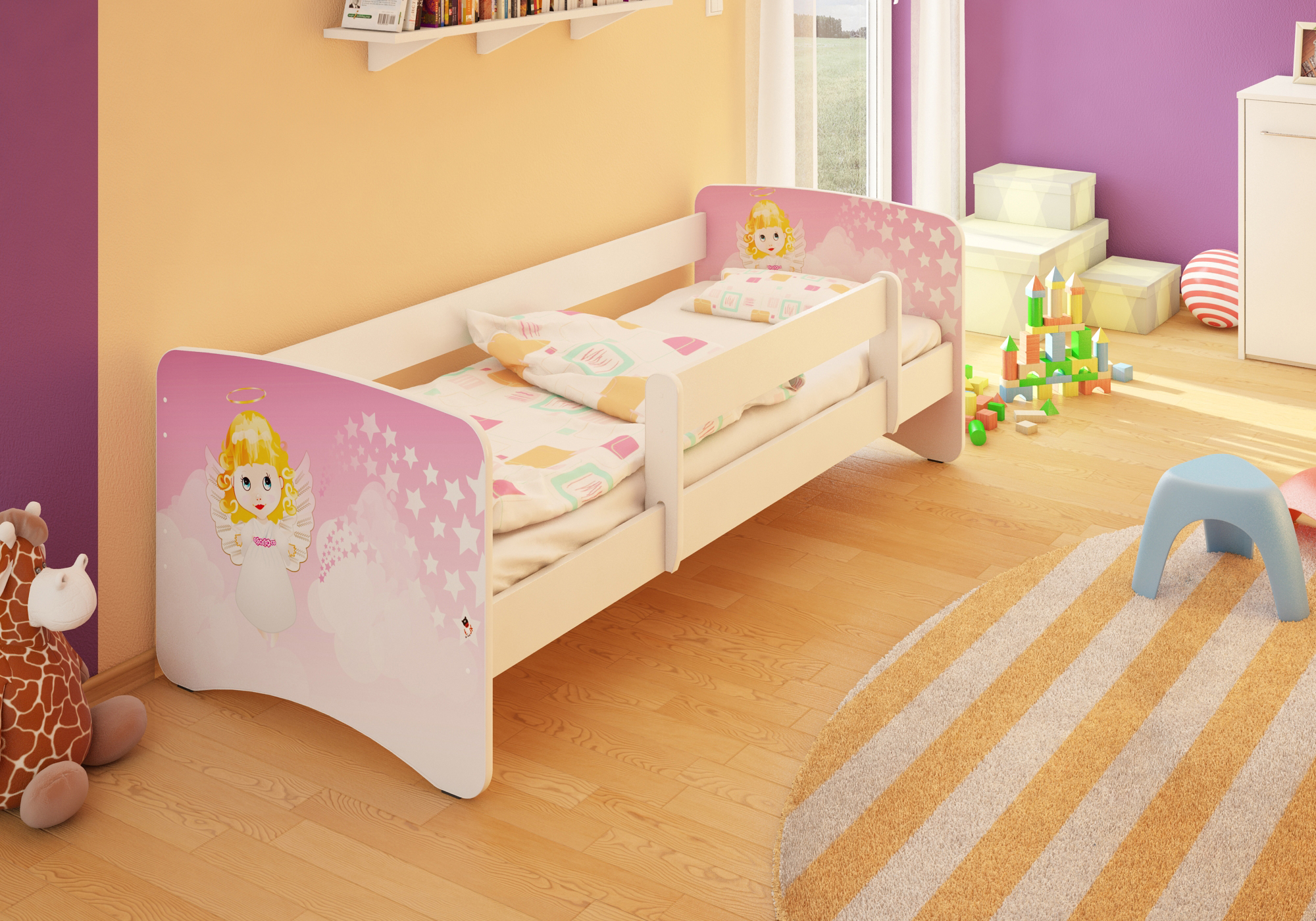 Bfk Best For Kids Brandneu Kinderbett Bett Jugendbett Mit
