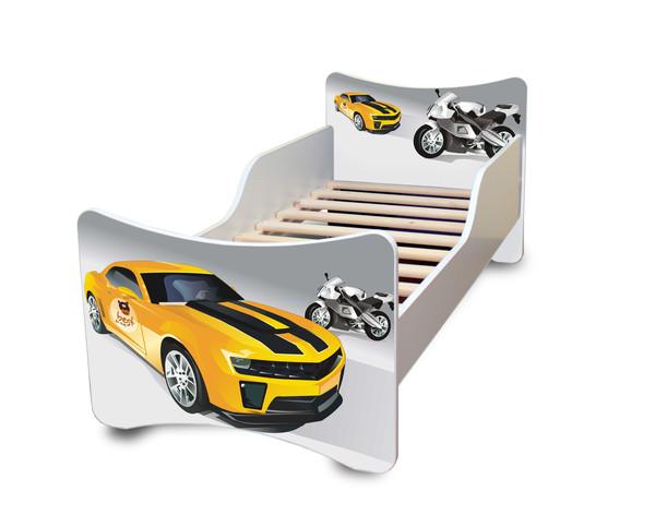 bfk babybett kinderbett 70x140 matratze lattenrost. Black Bedroom Furniture Sets. Home Design Ideas